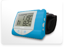 Bluetooth Blood Pressure Monitor TD-3223D. TaiDoc provides software compatible with iOS / Android on smart phones, web based server and web broswer for devices with bluetooth connection