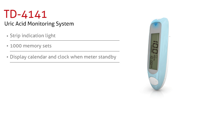 features of Uric Acid Monitoring System