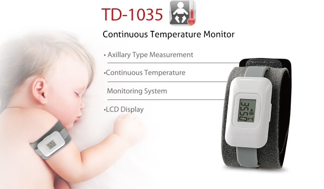 Features of Thermometer TD-1035 - TaiDoc is professional medical facilities and equipment OEM/ODM manufacturing manufacturer and supplier