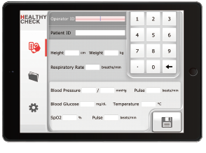 Healthy Check Pro on iPad